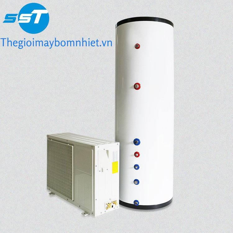 Máy nước nóng bơm nhiệt dân dụng Megasun- Sử dụng cho gia đình