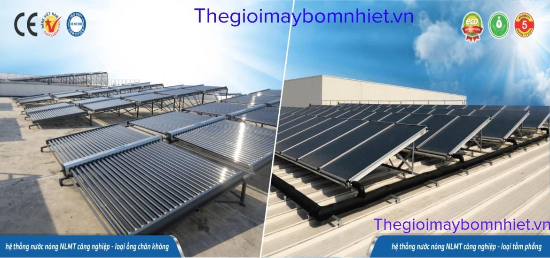 Nước nóng năng lượng mặt trời công nghiệp