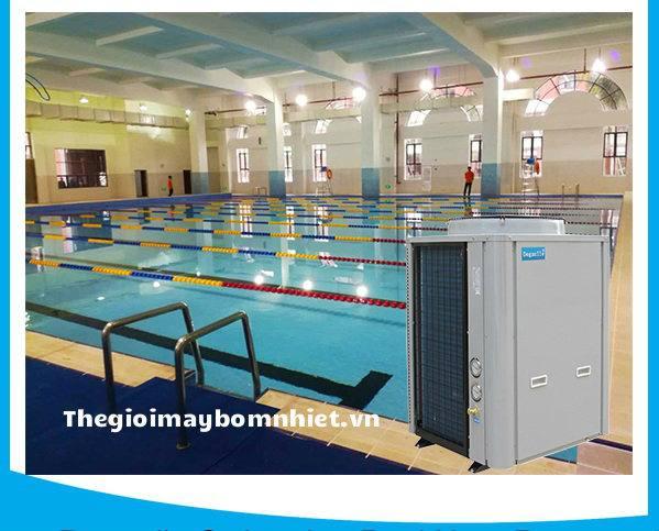 Bơm nhiệt bể bơi megasun