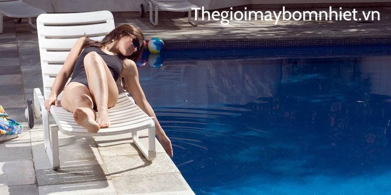 Bơm nhiệt hồ bơi Nirvana