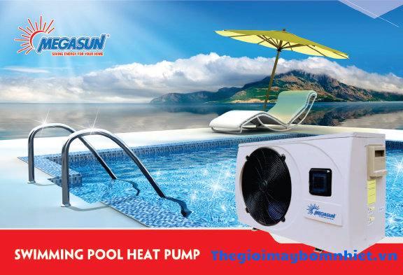 Máy gia nhiệt hồ bơi Megasun