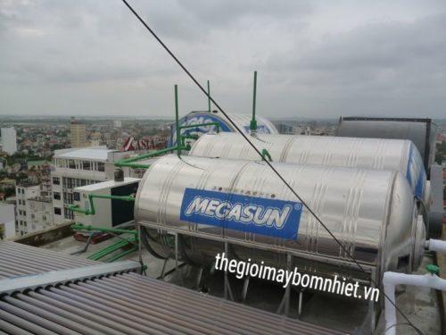 Bồn bảo ôn Inox chịu áp Megasun 3000 Lít