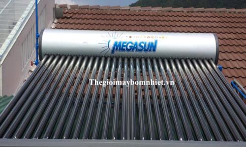 Máy nước nóng năng lượng mặt trờ Megasun ống đỏ 240 Lít