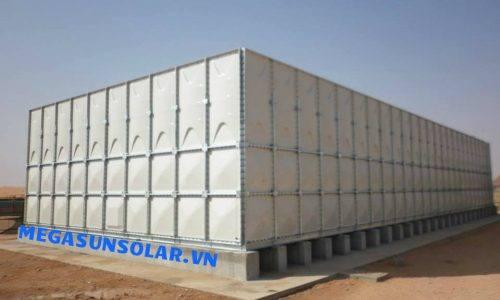 Bồn nước lắp ghép GRP dung tích chứa 150m³- Nhập khẩu từ Hàn Quốc