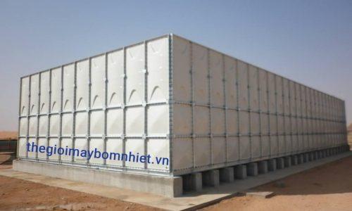 Bồn nước lắp ghép GRP dung tích chứa 30m³- Nhập khẩu từ Hàn Quốc