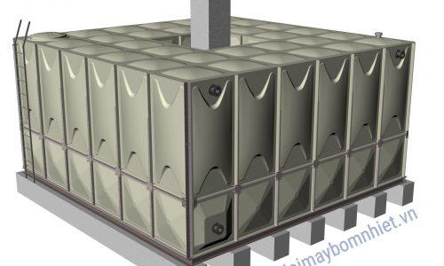 Bồn nước lắp ghép GRP dung tích chứa 50m³- Nhập khẩu từ Hàn Quốc