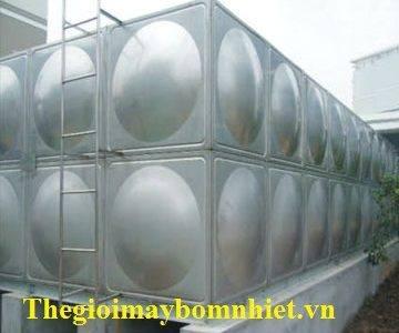 Bồn nước Inox lắp ghép Megasun - Dung tích 100M3