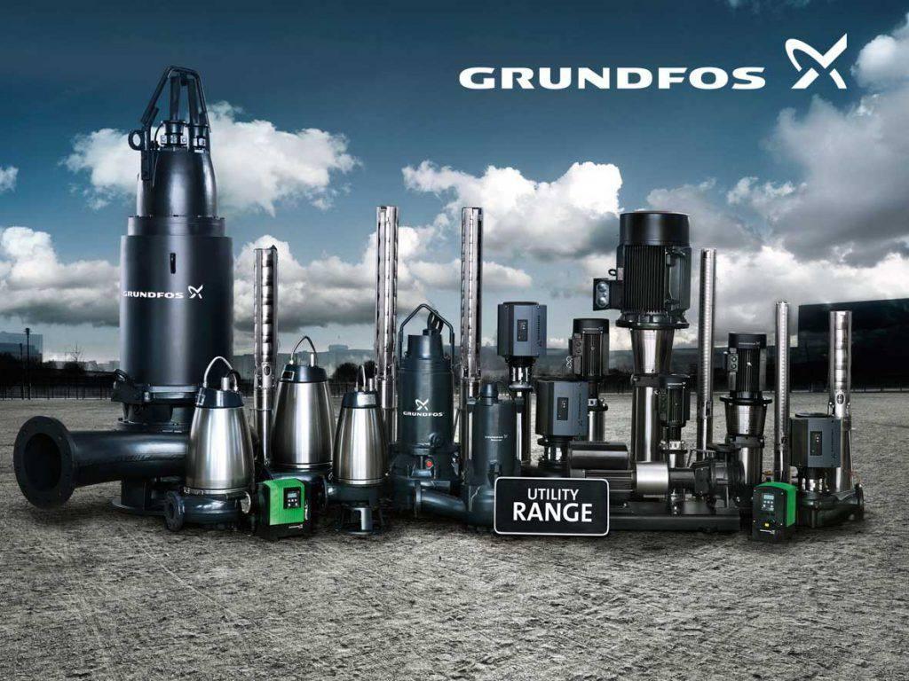 máy bơm nước Grundfos